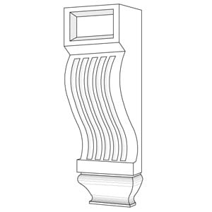Plaster Corbels and Brackets