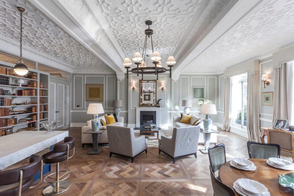 fibrous plaster ceiling restoration the strand
