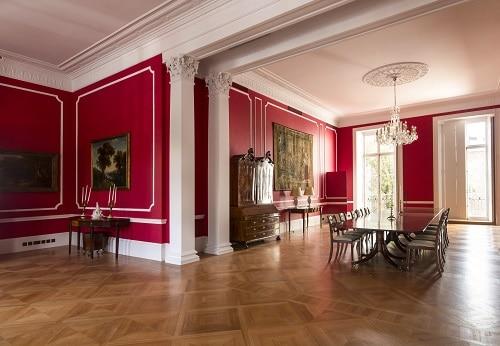 plaster restoration and new mouldings german embassy. Black Bedroom Furniture Sets. Home Design Ideas