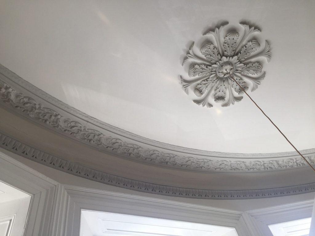 decorative plaster moulding