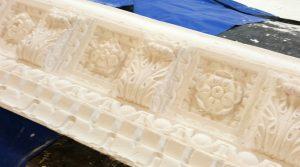 Enriched Modillion block decorative cornice
