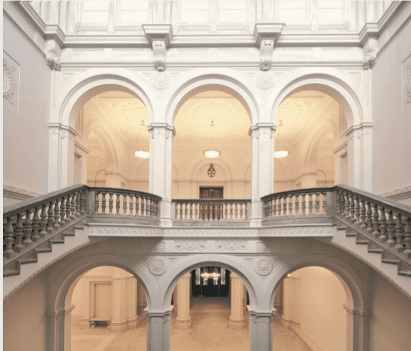 Royal Academy of Arts Fibrous Plaster Arches – Grand Staircase