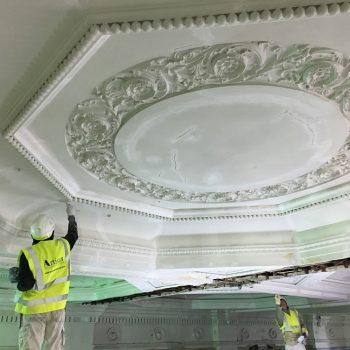 decorative ceiling repair