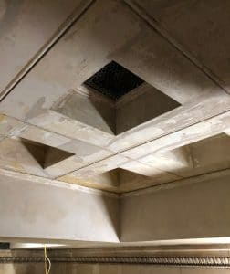 image of ceiling coffer downstands
