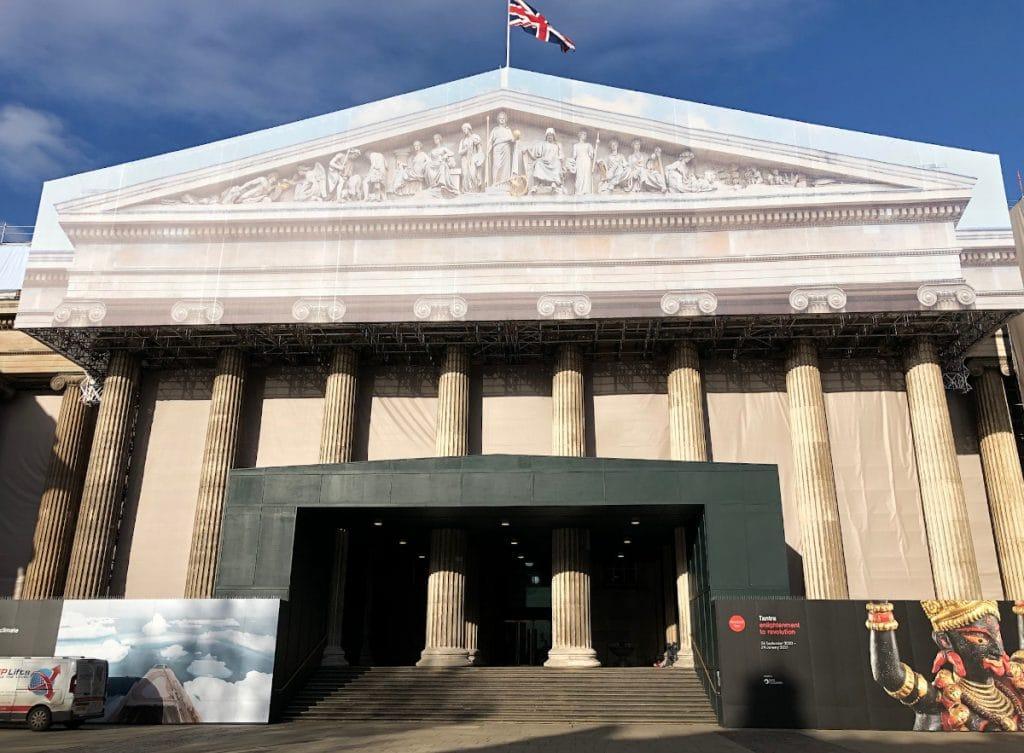 image of the british museum exterior restoration