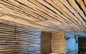 image of lath and plaster wall preparation