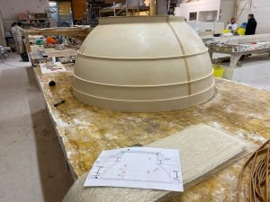 image of skylight plaster mould