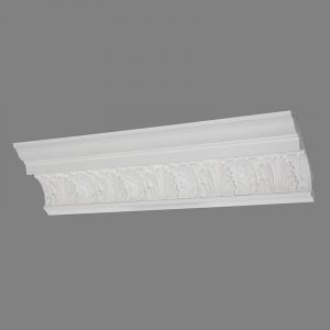 image of victorian french leaf cornice