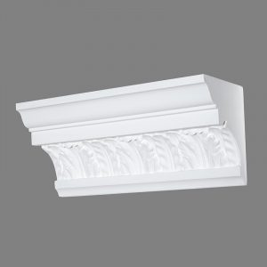 image of acathus and french leaf cornice