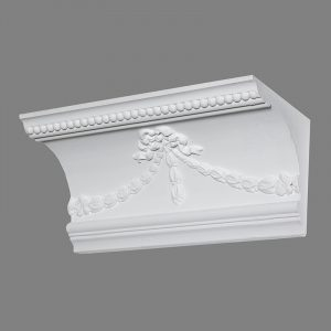 image of swag and drop cornice