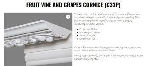 image of online cornice order