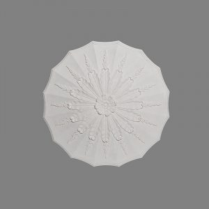 image of water leaf with husks ceiling rose