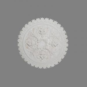 image of fruit enriched Victorian ceiling rose