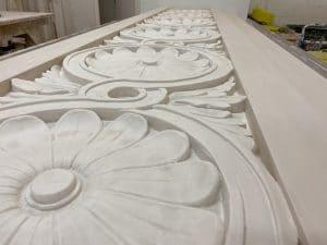 Enriched Decorative Plaster Moulding