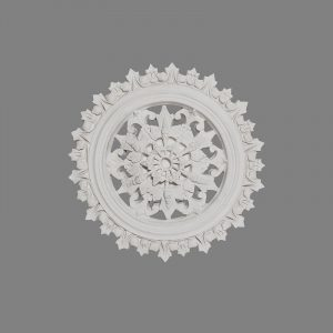 image of small Victorian ceiling rose