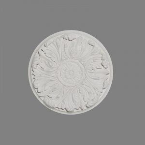 image of small acanthus leaf ceiling rose