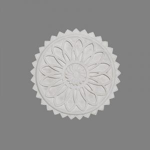 image of basket weave pattern ceiling rose