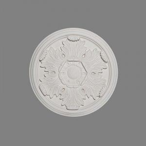 image of medium acanthus leaf ceiling rose