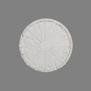 image of small acanthus plaster ceiling rose