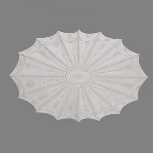 image of oval Adam ceiling rose