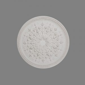 image of large Victorian ceiling rose