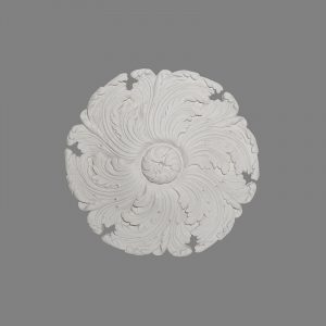 image of scrolling acanthus leaf ceiling centre
