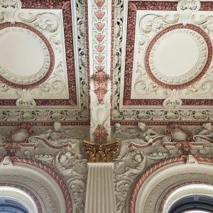 image of grosvenor room plaster mouldings
